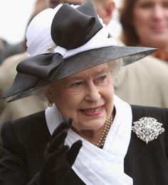 Queen Elizabeth II Photos Photos: The Queen and Duke of Edinburgh's Tour of Slovakia Day 1 #queenshats