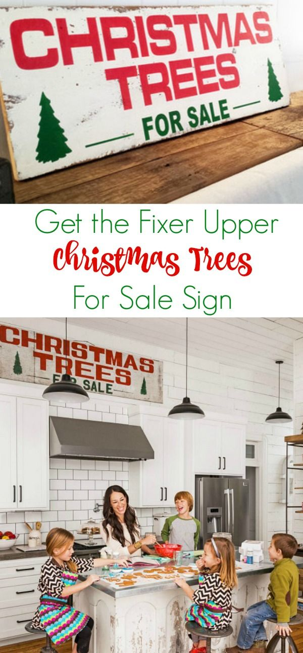 Get The Joanna Gaines Fixer Upper Look With This Christmas Trees For Sale Sign Christ Christmas Tree Sale Fixer Upper Christmas Christmas Decorations Bedroom