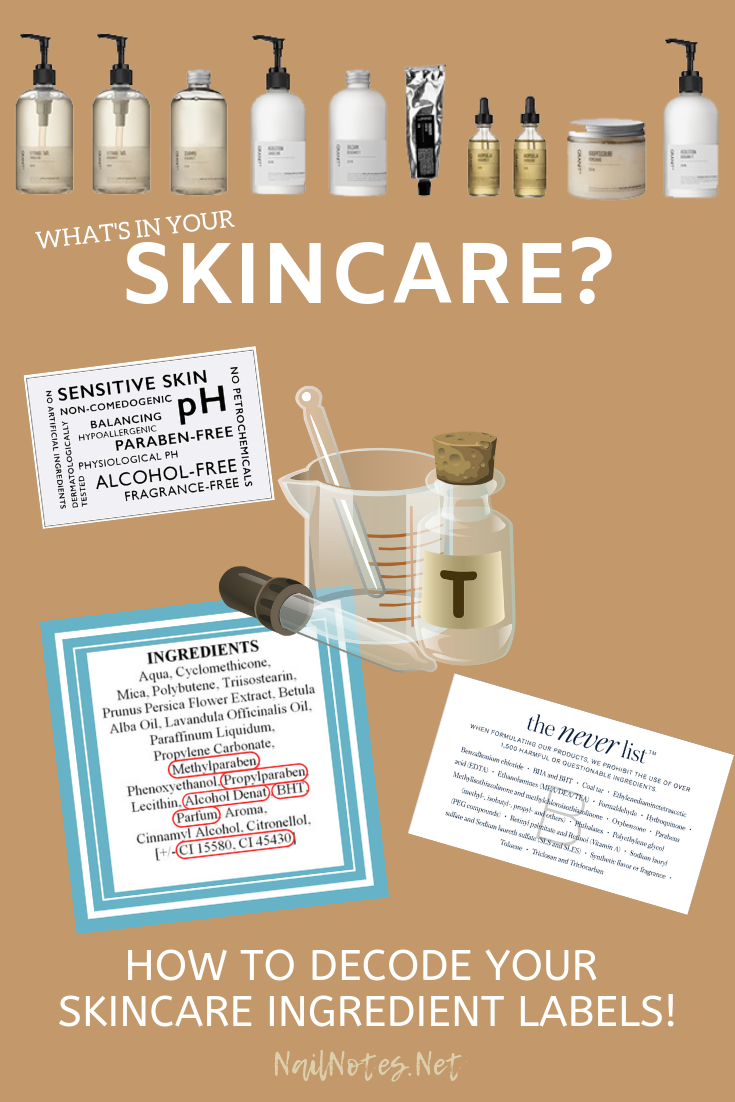 What S In Your Skincare Skincare Ingredients List How To Read Skincare Labels Skincare Ingredien Alcohol Free Fragrance Skin Care Fragrance Free Products