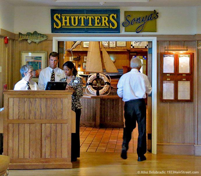 Shutters Restaurant Disney S Vero Beach Resort Florida