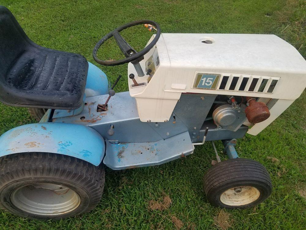 Sears Ss15 Garden Tractor Sears Garden Tractor Tractors Lawn And Garden