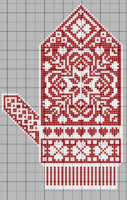 Mittens: Free Pattern | Knitting | Pinterest | Punto de cruz ...