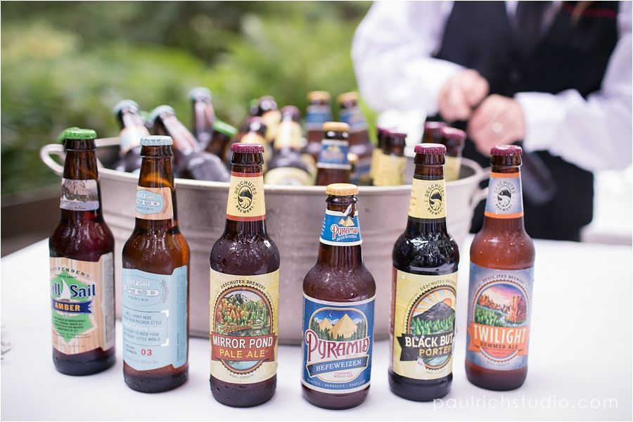 Local Beers at Your Wedding Bar or beers from places that mean a lot to the couple