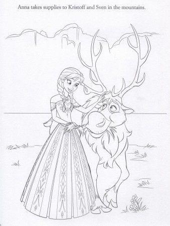Disney FROZEN Coloring Pages | Cumple