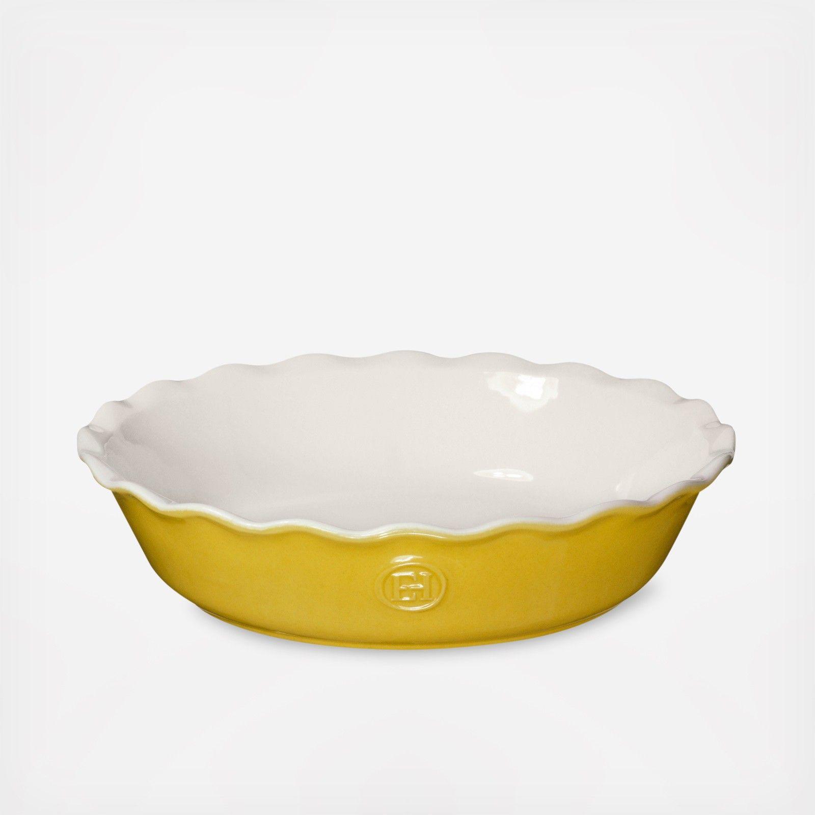 Modern classics pie dish by emile henry wedding planning registry
