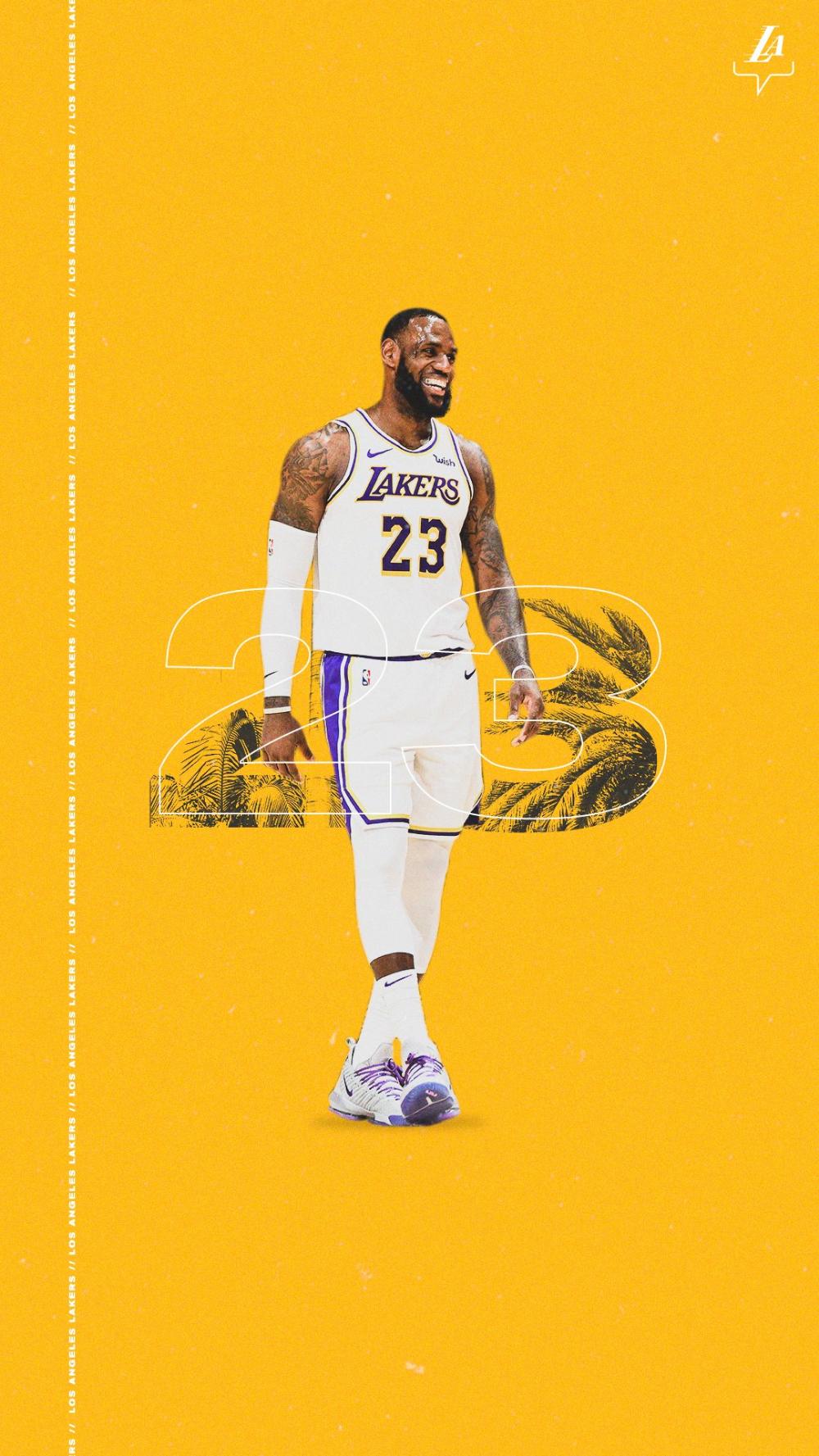 Los Angeles Lakers On Twitter Lebron James Wallpapers Lakers Wallpaper Lebron James Painting