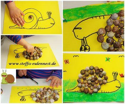 Basteln basteln mit kindern fr hling fr hling krippe for Angebote kindergarten herbst