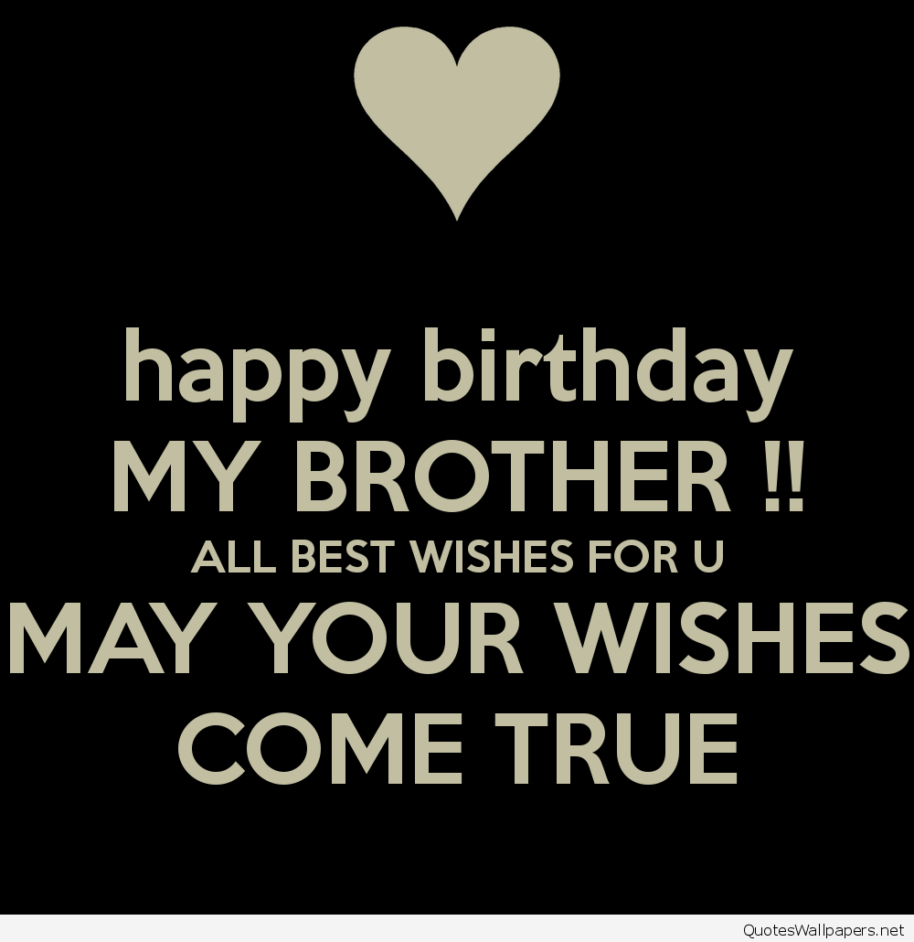 Happy Birthday Wishes Brother Images Pictures[/caption...