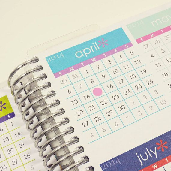 Mini round stickers for planners calendars or diaries made to order