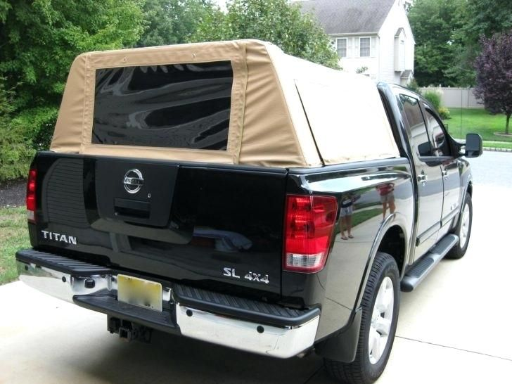 Homemade Truck Topper Canvas Truck Bed Cover Canvas Truck Bed Cap