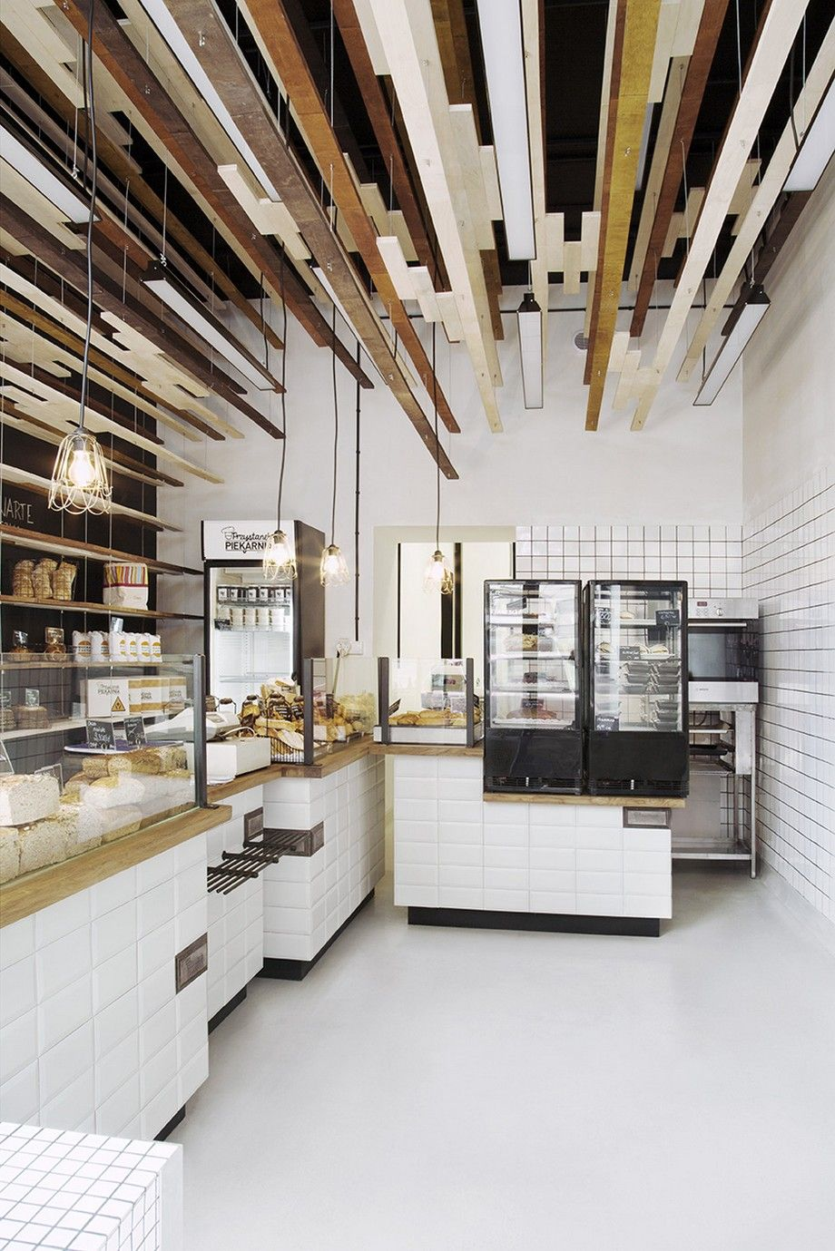 Inviting Bakery Design In Warsaw Exhibiting An Eye Catching