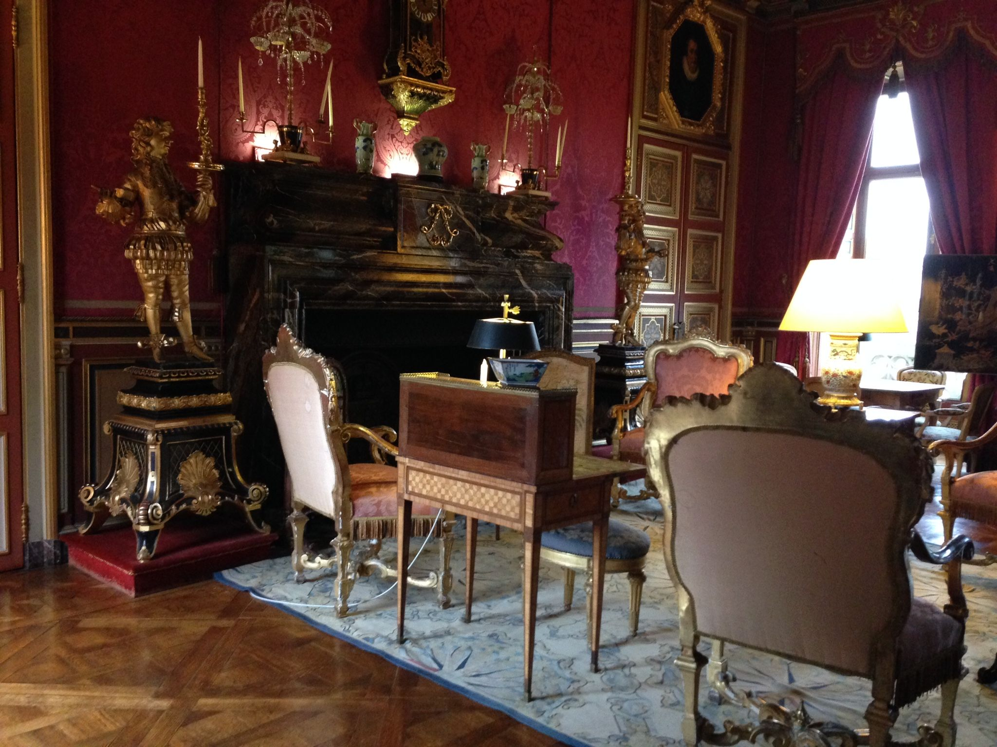 Interiors France Chateau De Maintenon Interior France Reference For