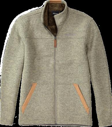 Marmot Men S Bancroft Fleece Jacket Sandstorm Heather Xl Fleece Jacket Mens Fleece Mens Jackets