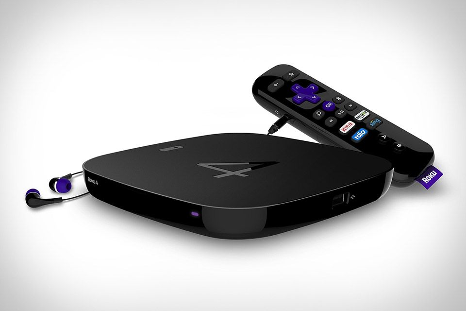 Roku 4 (With images) Apple tv, Streaming media