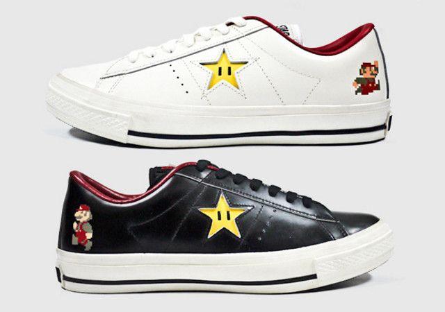 Scarpe Converse One Star Super Mario Bros Nintendo