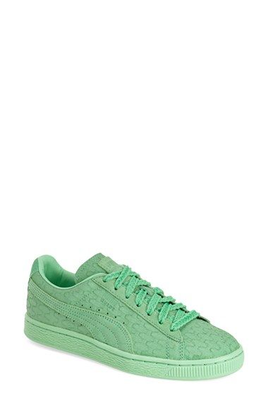 Free shipping and returns on PUMA 'Suede Classic - Solange' Sneaker (Women) at Nordstrom.com. Geo-embossed suede adds textureto a classic PUMA sneaker perfect for summer adventures and beyond.