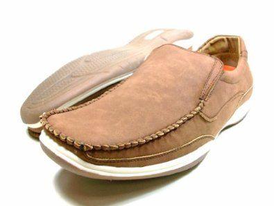 mens brown delli aldo casual driving moccasins shoes