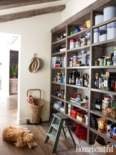 Kitchen Of The Month March 2017 Design Chris Barrett Open Shelves In Pantry