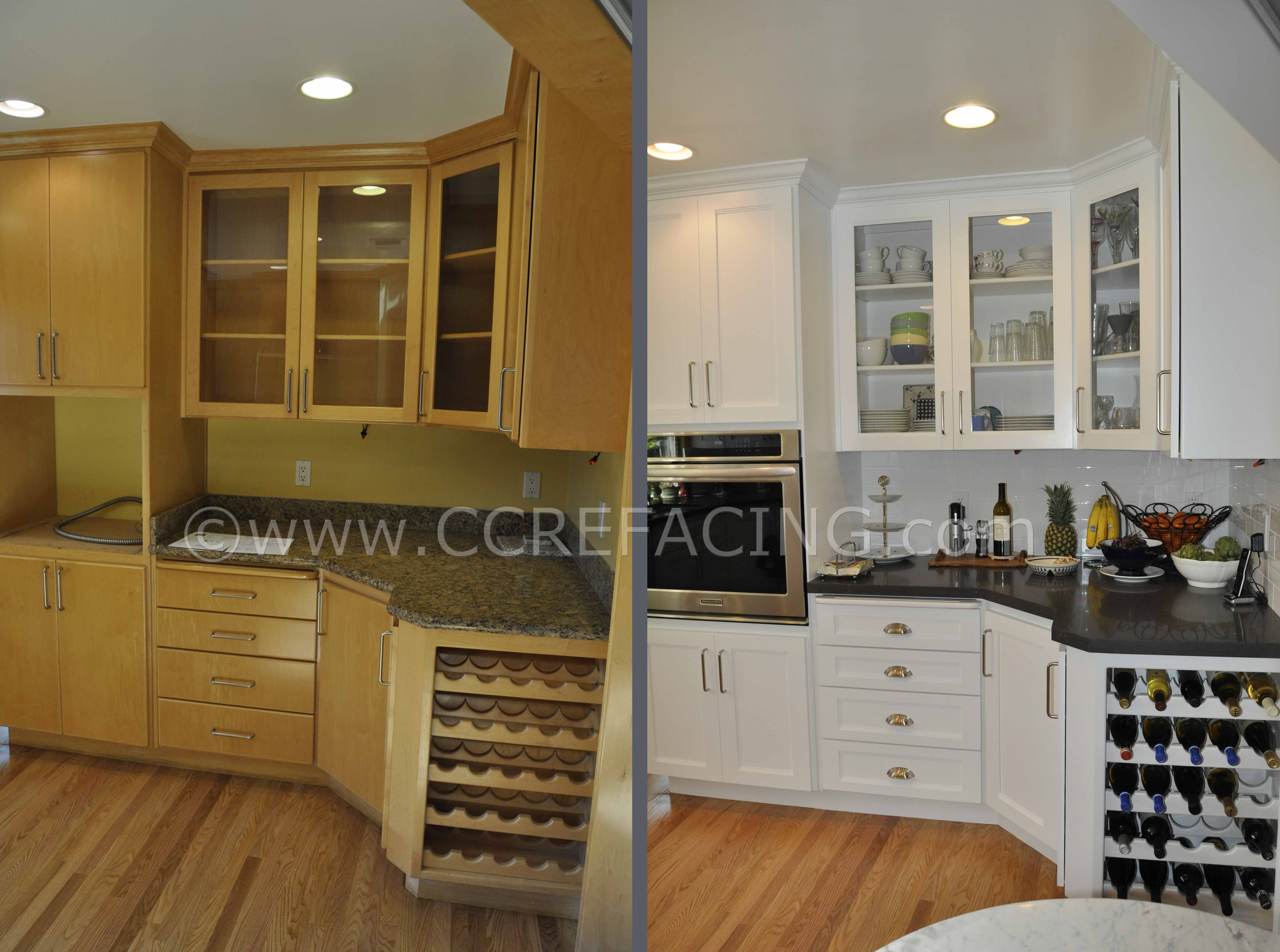 Lovely Refacing Cabinets Shaker Style
