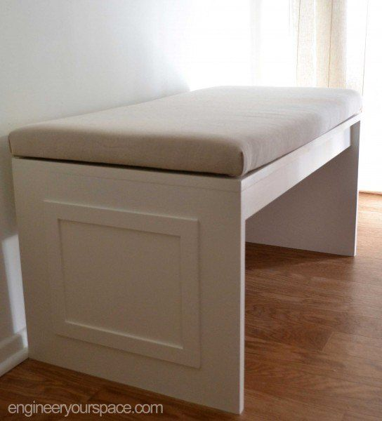 Simple DIY Furniture Project: MDF Bench