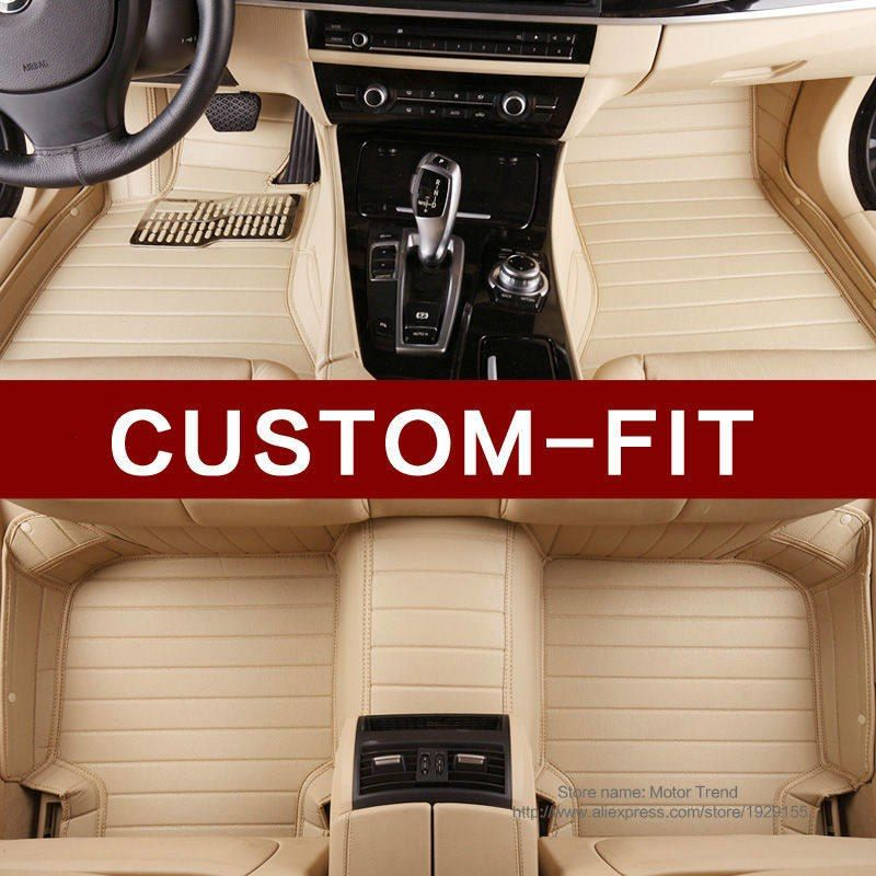 Custom Fit Car Floor Mats For Mitsubishi Lancer Galant Asx Pajero V73 V93 3d Car Styling All Weather Carpet Floor Liners Car Floor Mats Fit Car Nissan Rouge