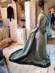 Victoriaanse bustle jurk