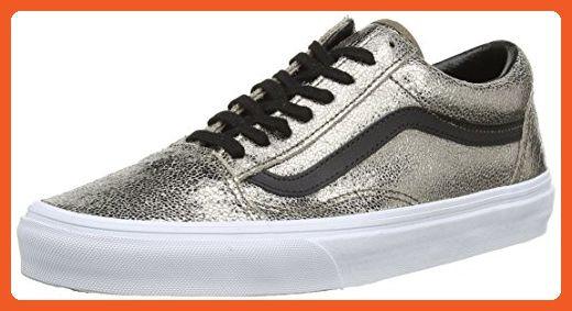 37fcfd7011 Vans Old Skool Metallic Leather Bronze Black (Size 8.5 Men s 10 Women s) -  Sneakers for women ( Amazon Partner-Link)
