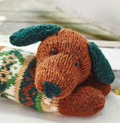 Sausage Dog Draught Excluder | Animal knitting patterns ...