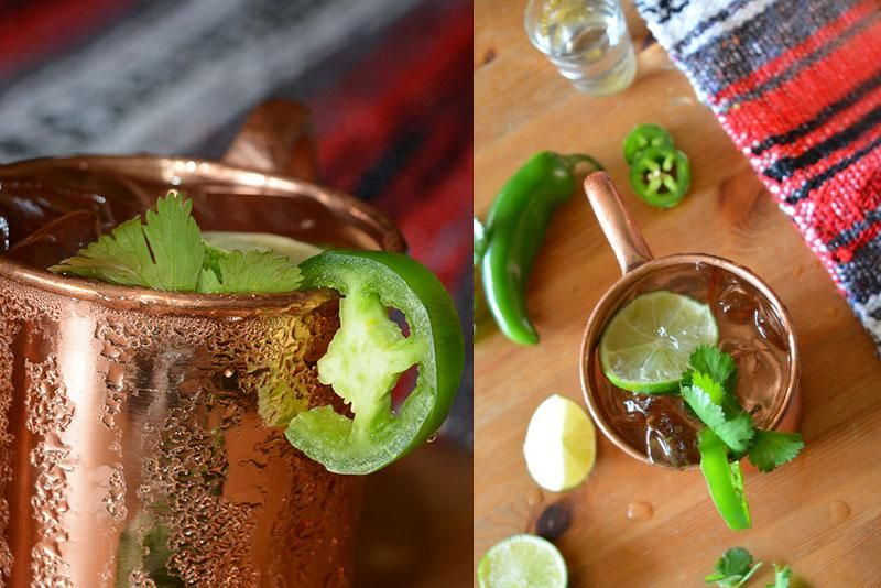 Mexican Mule Moscow Mule Recipe