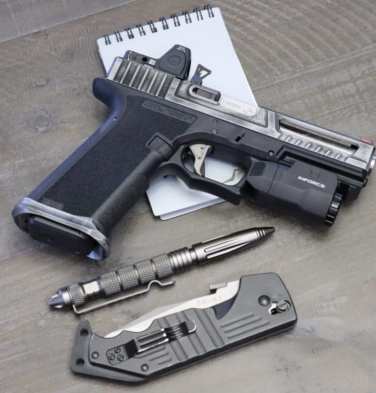 The Polymer 80 And The Oh So Affordable Steel City Arsenal Slide And Magwell The Best Ultralight Slide In Its Price Firearms Concealed Carry Handgun Hand Guns