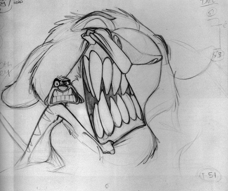 Rarely seen concept art of 'The Lion King' (57 Photos)