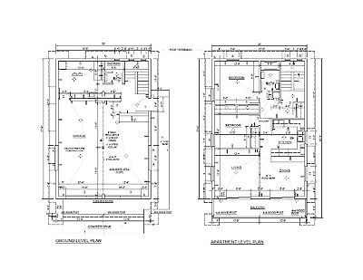 Two Car Garage Apartment Plans DIY 2 Bedroom Coach Carriage House