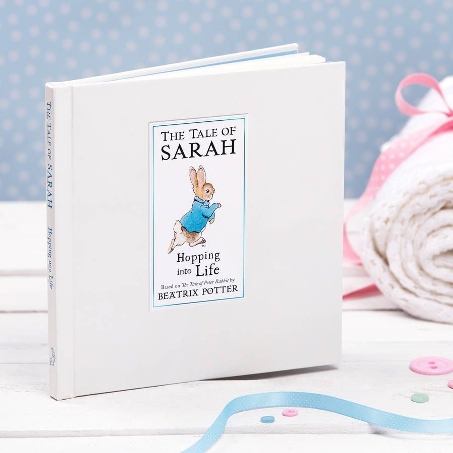 Personalised tale of peter rabbit gift boxed book beatrix potter personalised tale of peter rabbit gift boxed book gifts for familynew baby negle Choice Image
