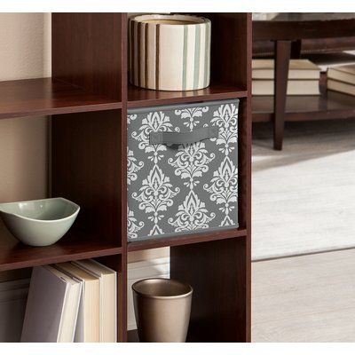 Closetmaid Cubeicals Damask Fabric Drawers Color Gray In 2018