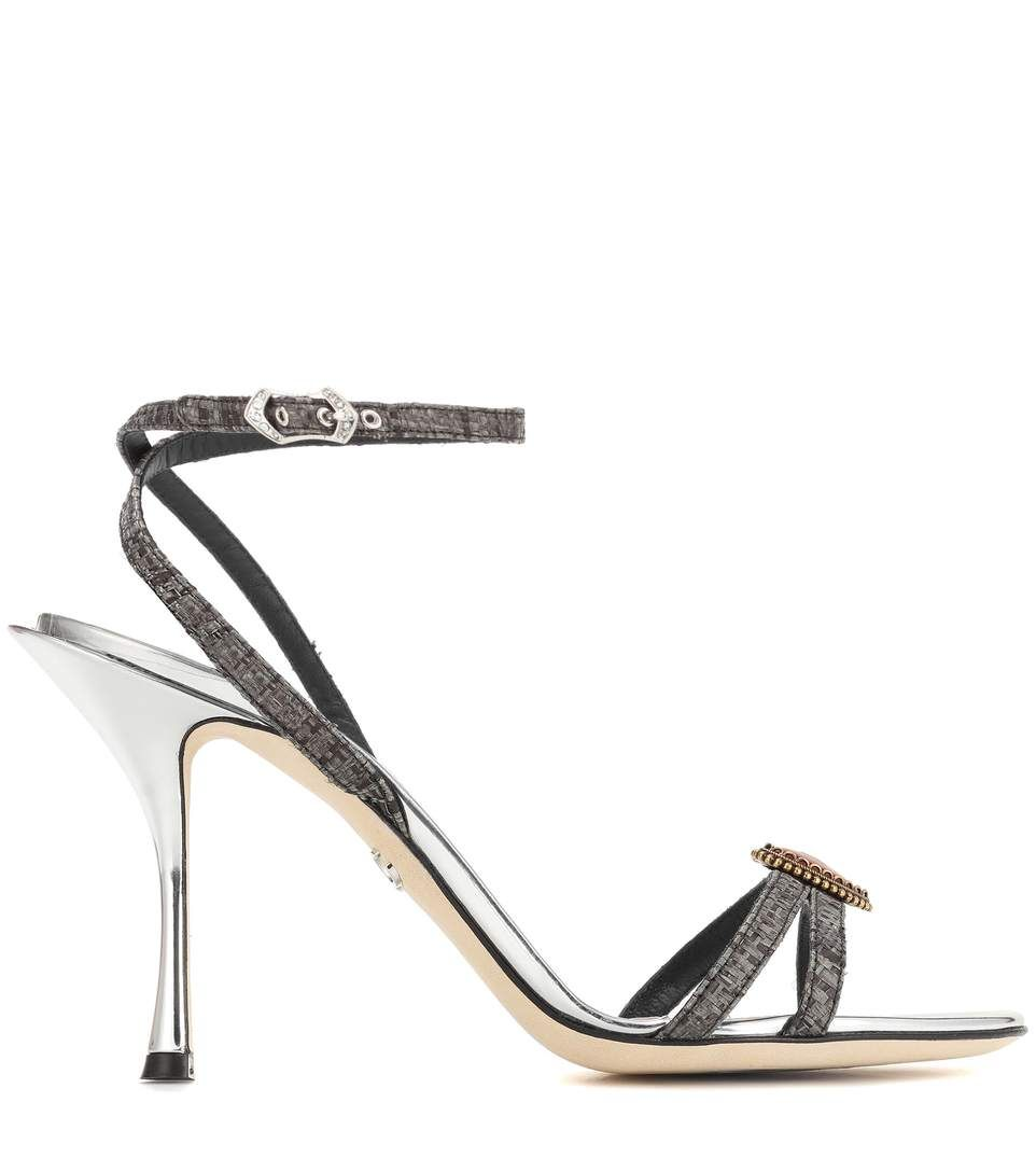 Logo heart ankle-strap sandals Dolce & Gabbana hQhomvqQm