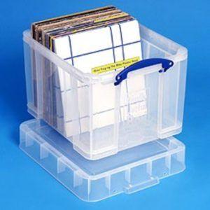 Lp Record Storage Box Plastic Record Storage Box Plastic Box Storage Craft Storage Box