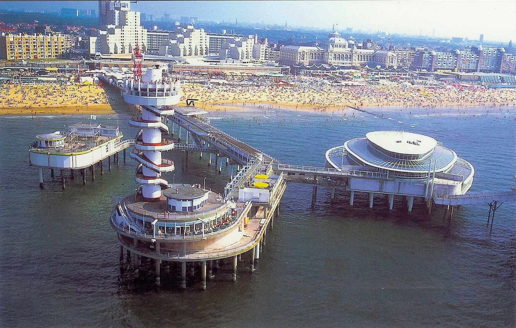 Scheveningen The Beach At Den Haag When Miles Was 2 We