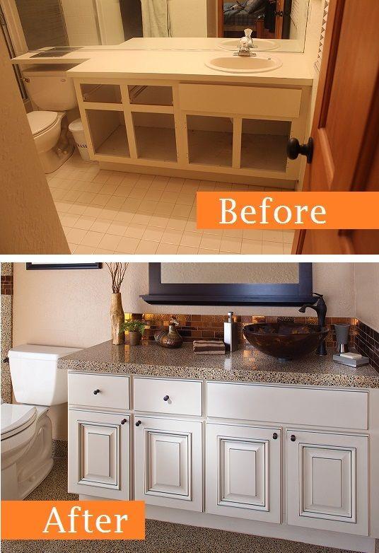 Beforeandafter Bathroom Transformation By Granite Transformations Kitchen Bathroom Remodel Bathroom Transformation Kitchen Remodel