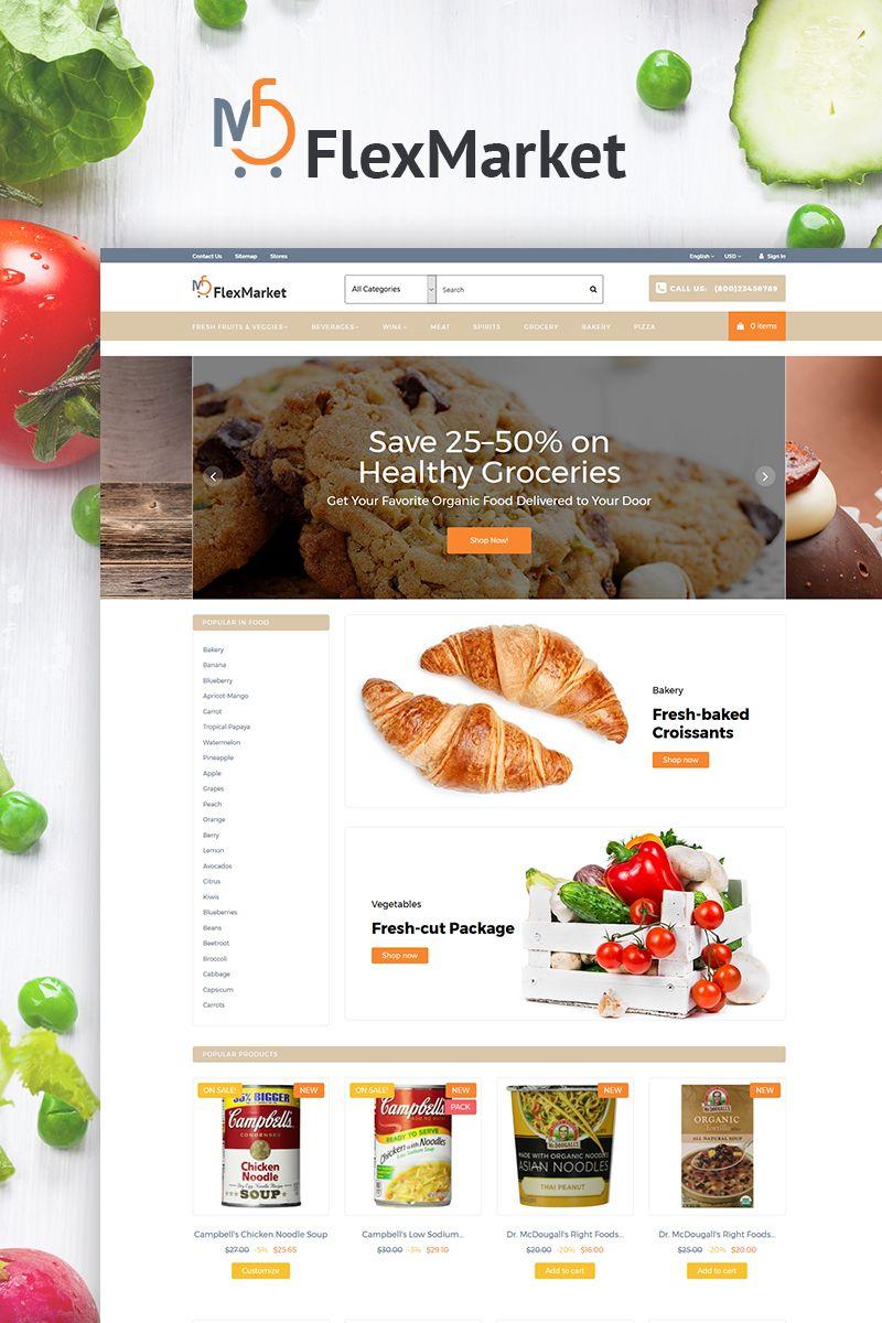 FlexMarket PrestaShop Theme Big Screenshot | New Website Templates ...