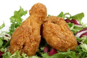 Pollo con cereales