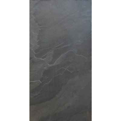 Avenzo 24 In X 12 In Castle Grey Slate Wall And Floor Tile