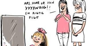 Vi Opdrager Vores Piger Til At Fokusere Pa Deres Krop Piger Folkeskole Born