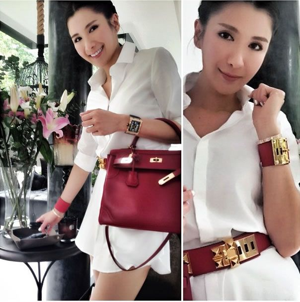 Yahoosg Fashion Hermes Kelly Celebrity Style