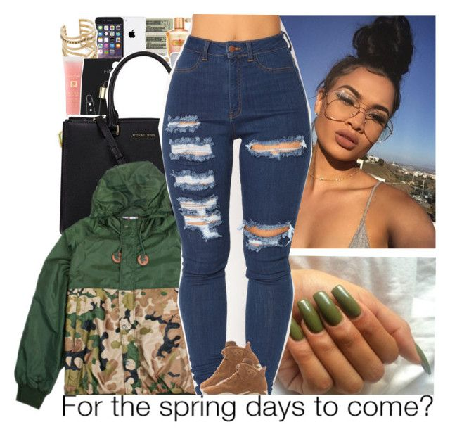 """""""Untitled #673"""" by issaxmonea ❤ liked on Polyvore featuring Michael Kors"""