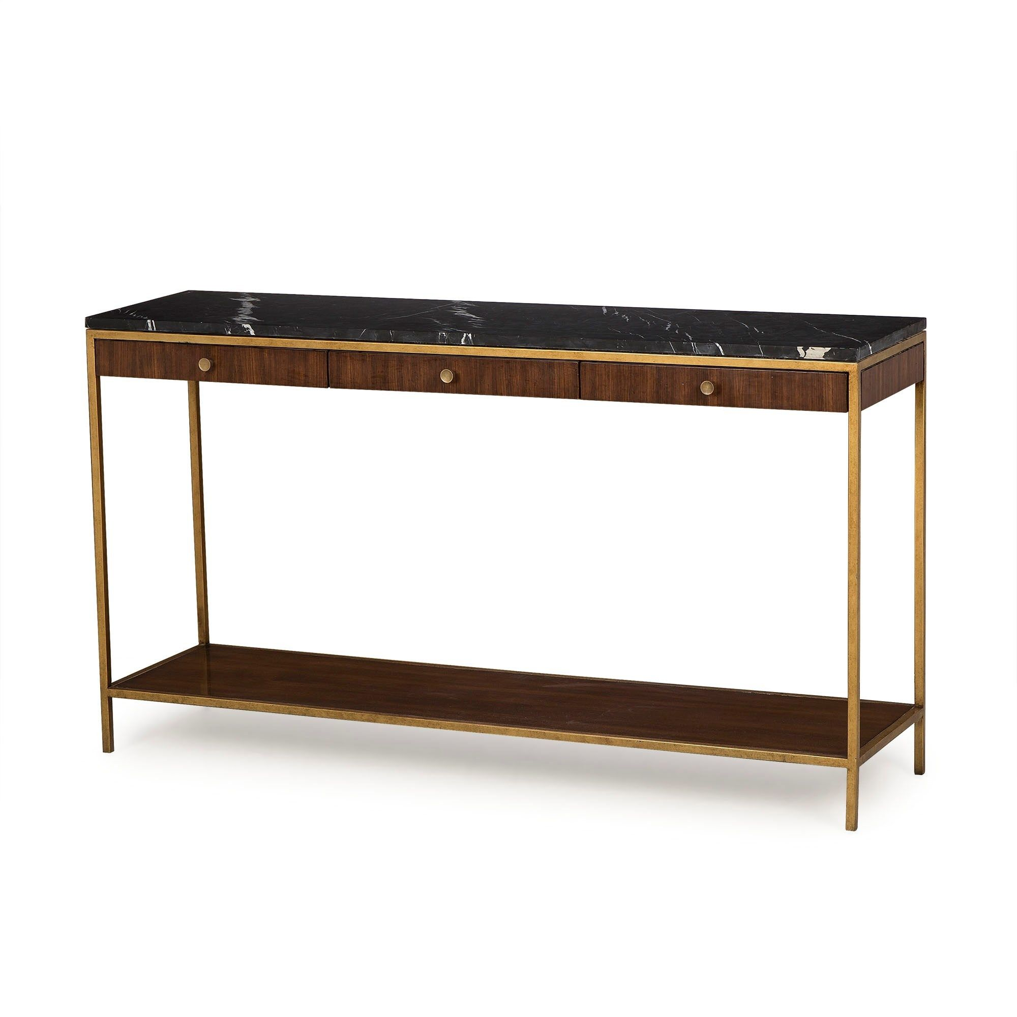 Copeland Console Table Rouse Home Marble Top Console Table Narrow Console Table Console Table
