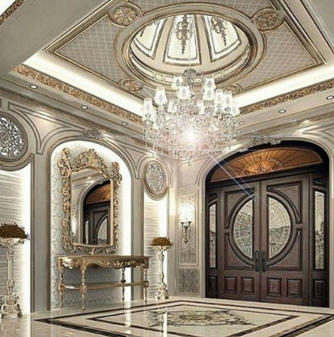 5 Domed Ceiling Decoration In A Luxurious Home Design