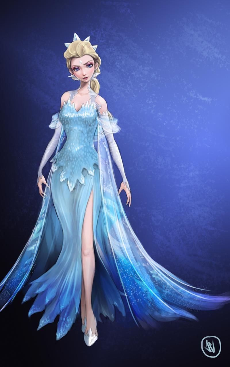 The Snow Queen Full Body By Jaeon009 On Deviantart In 2020 Snow Queen Princess Style Elsa
