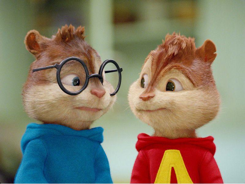 Alvin And Simon Alvin E Os Esquilos Criaturas Esquilo