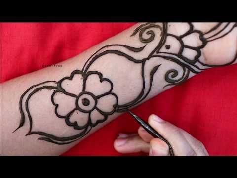 Easy / Simple Arabic Mehndi Design | Full Hand Arabic Mehndi Design 2020 | Mehndi Design | मेहंदी
