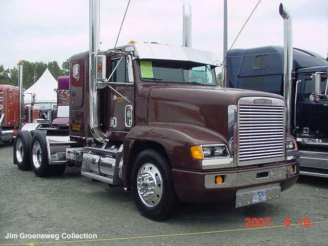 Freightliner Fld120 Photos News Reviews Specs Car Listings Freightliner Freightliner Trucks Big Trucks